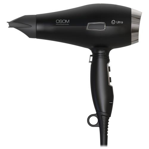 "Plaukų džiovintuvas Osom Professional ""Matte Black Hair Dryer"", OSOM6612BLDCHD"