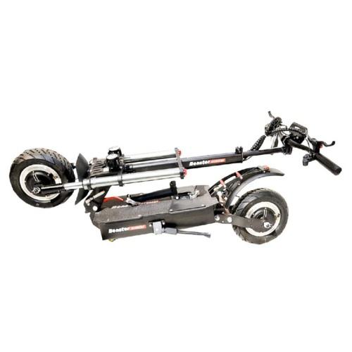 Elektrinis paspirtukas Beaster Scooter BS50ST, 2400 W, 60 V, 26 Ah, hidrauliniai stabdžiai, miesto padangos