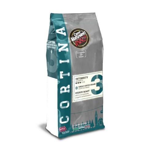 Kavos pupelės Vergnano Cortina 1273, 250 gr.
