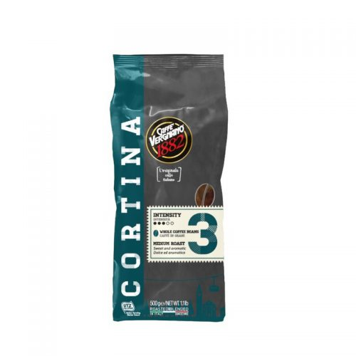 Kavos pupelės Vergnano Cortina 1277, 500 gr