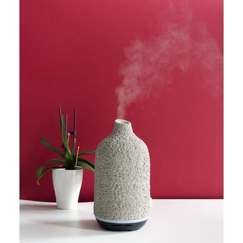 Kvapų difuzorius Zyle Aroma, ZY054GR, 130 ml, pilkas