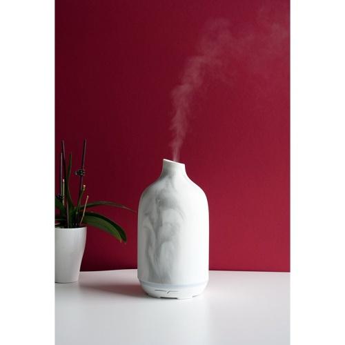 Kvapų difuzorius Zyle Aroma ZY054IW,130 ml, marmuro spalvos