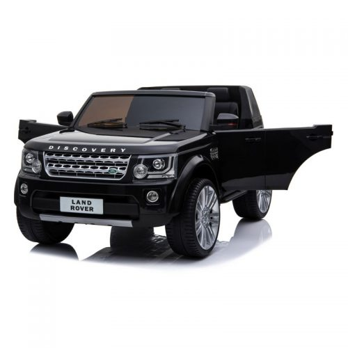 Vaikiška elektrinė mašinėlė Land Rover Discovery BDM0918, juoda
